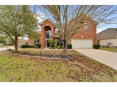 Pflugerville Single Family Home Pending - Taking Backups: 1401 Pear Ct