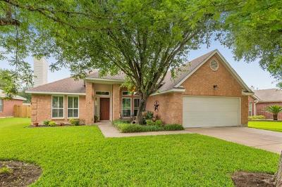 Leander Single Family Home For Sale: 16319 Spotted Eagle Dr