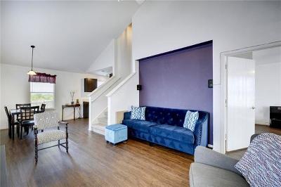 Manor Single Family Home Pending - Taking Backups: 11900 Lima Dr