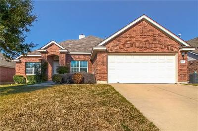 Round Rock Single Family Home For Sale: 715 Tom Kite Dr