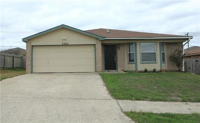Killeen Single Family Home For Sale: 3205 Windfield Dr