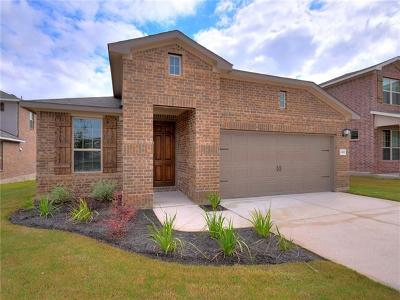 Round Rock Single Family Home For Sale: 2452 Hat Bender Loop