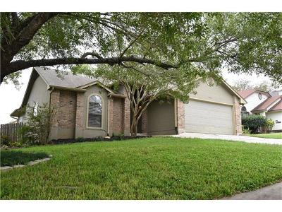 Round Rock Single Family Home For Sale: 2021 Yaupon Trl