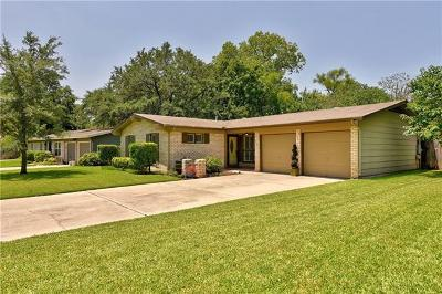 Austin Single Family Home For Sale: 8302 Millway Dr