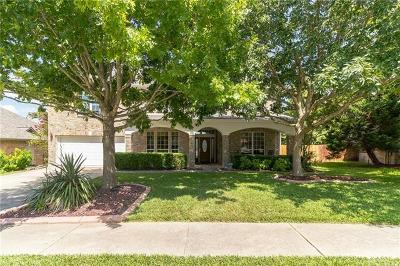 Round Rock Single Family Home For Sale: 1867 Paradise Ridge Dr