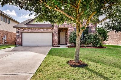 Round Rock Single Family Home For Sale: 1118 Sussex Pl
