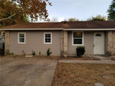 Menard County, Val Verde County, Real County, Bandera County, Gonzales County, Fayette County, Bastrop County, Travis County, Williamson County, Burnet County, Llano County, Mason County, Kerr County, Blanco County, Gillespie County Single Family Home For Sale: 2309 N Peppertree Ct