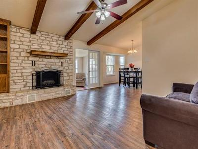 Round Rock Single Family Home Pending - Taking Backups: 426 Shady Path Cv