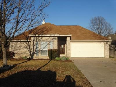 Leander Single Family Home Pending - Taking Backups: 1202 River Oak Dr