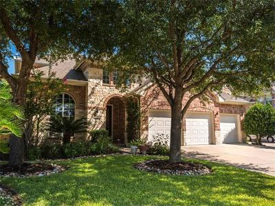 Round Rock Single Family Home For Sale: 2913 Plantation Dr
