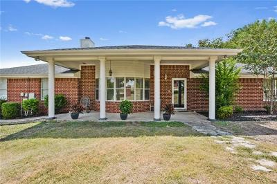 Round Rock Single Family Home For Sale: 1 Valley Trl