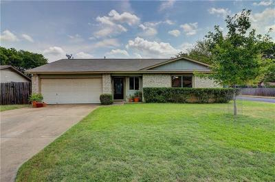 Travis County, Williamson County Single Family Home For Sale: 11213 Henge Dr
