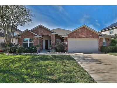 Pflugerville Single Family Home For Sale: 2705 Amen Corner Rd
