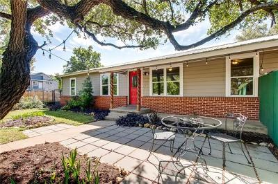 Travis County Single Family Home Pending - Taking Backups: 501 Oertli Ln