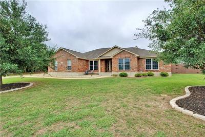 Hutto Single Family Home Active Contingent: 124 Blanco Dr