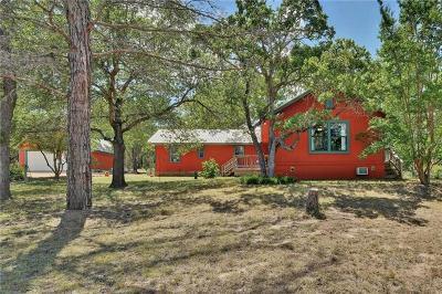 Burnet County Single Family Home For Sale: 3714 N Fm 1174