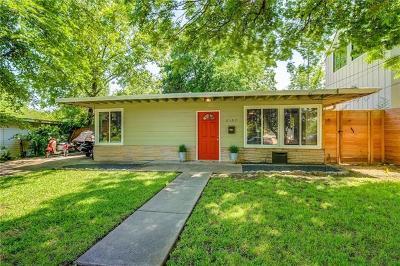 Austin Single Family Home Pending - Taking Backups: 2107 Peach Tree St