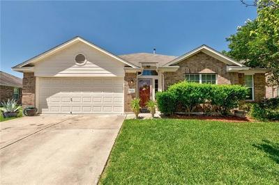 Kyle Single Family Home For Sale: 1529 Amberwood Loop