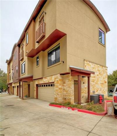 Travis County Condo/Townhouse For Sale: 124 Cumberland Rd #104
