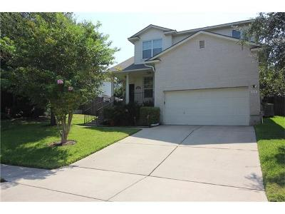 Round Rock Single Family Home Pending - Taking Backups: 1127 Sundrop Pl