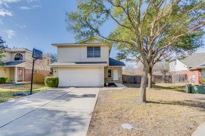 Round Rock Single Family Home For Sale: 2255 Ada Ln