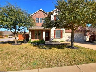 Round Rock Single Family Home For Sale: 1614 Greenside Dr
