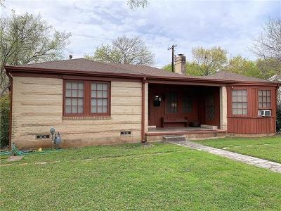 Austin Single Family Home Pending - Taking Backups: 3108 Kerbey Ln