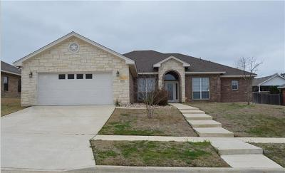 Killeen TX Single Family Home For Sale: $244,900
