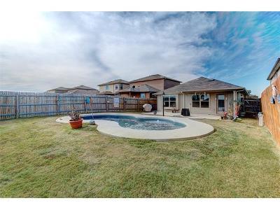 Manor Single Family Home Pending - Taking Backups: 14609 Joy Lee Ln
