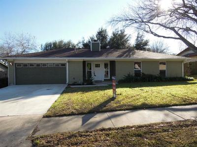 Pflugerville Single Family Home For Sale: 1607 Old Tract Rd