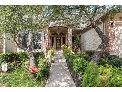 Round Rock Single Family Home For Sale: 1402 Lake Bluff Cv