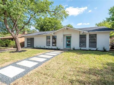 Austin Single Family Home For Sale: 2604 McGregor Dr