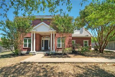 Round Rock Single Family Home For Sale: 1217 Meadowild Dr