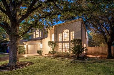Cedar Park Single Family Home For Sale: 1308 Nightingale Dr