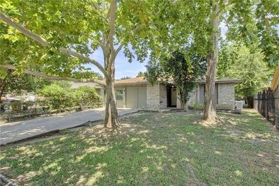 Hays County, Travis County, Williamson County Single Family Home Pending - Taking Backups: 5710 Encinal Cv