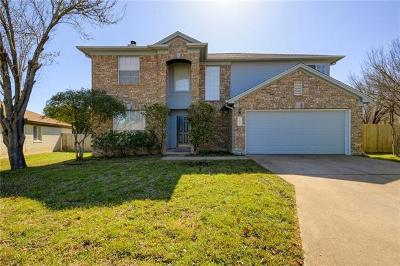 Round Rock Single Family Home Pending - Taking Backups: 16705 Anjou Ln
