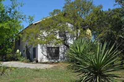 Burnet Single Family Home For Sale: Sunset Cliff End Of