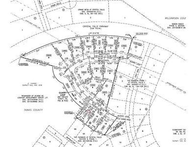 Leander Residential Lots & Land For Sale: 2313 Quarry Loop