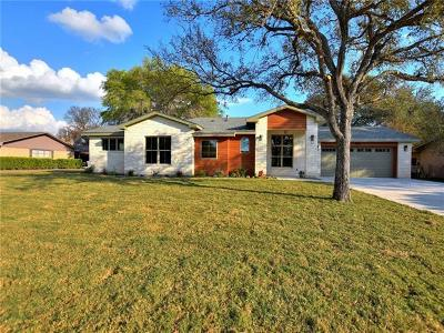Marble Falls Single Family Home Pending - Taking Backups: 1507 Northwood Dr