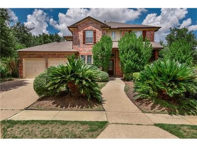 Round Rock Single Family Home For Sale: 3400 Luminoso Ln