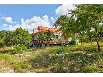 Dripping Springs Single Family Home Pending - Taking Backups: 3400 Deadwood Stage Rd