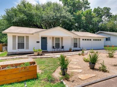 Austin Single Family Home For Sale: 8415 Jamestown Dr