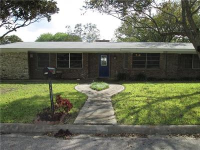 Burnet Single Family Home For Sale: 903 Wofford Dr