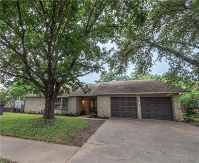Austin Single Family Home Pending - Taking Backups: 10600 Parkfield Dr