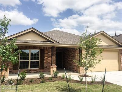 Round Rock Single Family Home For Sale: 1109 Chad Dr