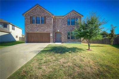 Round Rock Single Family Home For Sale: 1737 E Mesa Park Cv