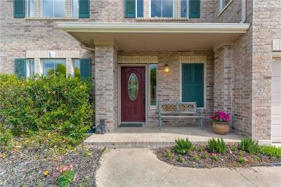 Cedar Park Single Family Home Pending - Taking Backups: 2002 Cupolla Mtn
