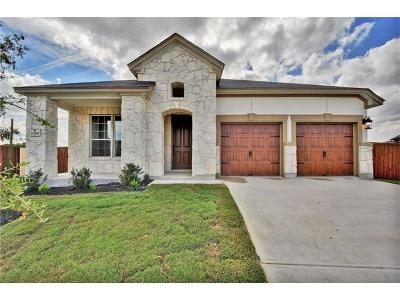 Leander Single Family Home For Sale: 1309 Decatur Ct
