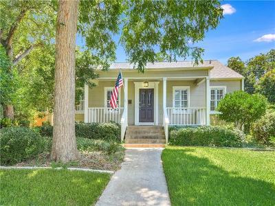 Austin Single Family Home For Sale: 5007 Shoal Creek Blvd