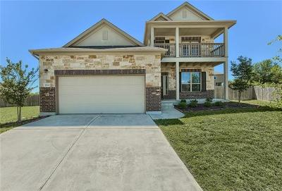 Pflugerville Single Family Home For Sale: 19501 Coneflower Cv